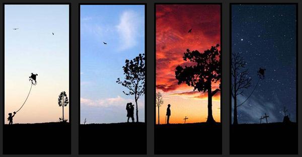 Life in 4 frames